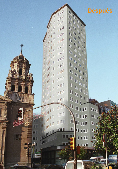 Edificio Bankunión, Álvarez Garaya, Gijón